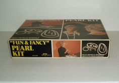 Vintage 1971 FUN & FANCY PEARL KIT Jewelry Making Set Necklaces Earrings | eBay
