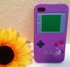 Fun Purple Gameboy iPhone 4 Case