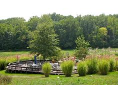 Traders Point Creamery's #outdoor landscape is perfect for your next #event.