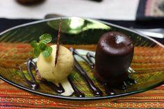 Green Tangerine, Vanilla Ice Cream, Hanoi, Chocolate Cake, Pudding, Restaurant, Desserts, Warm, Food