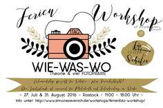 Ein Ferientag für die Fotografie, ein Workshop - Theorie als Einstieg - leicht und verständlich & viel Praxis mit der Kamera. ferienworkshop #fotokurs #fotokursrostock