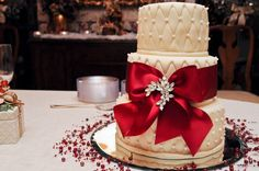 Kristin's wedding cake