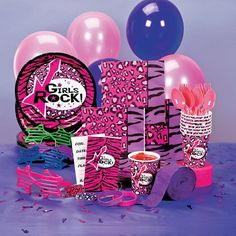 Rock Star Diva Deluxe Party Pack