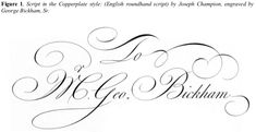 Demystifying the Copperplate/Spencerian Script Enigma | IAMPETH site