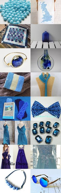 Beautiful in Blue! by TheDaintyBoutique on Etsy--Pinned with TreasuryPin.com