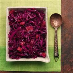 This red cabbage recipe is a great alternative to sprouts for Christmas dinner.
