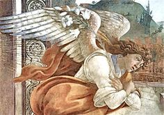 nature-and-culture:  nature-and-culture : Botticelli, the Angel of Annunciation, via :blog.sofieviolett.se