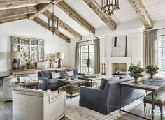 GORGEOUS COLOR SCHEME //Antique Touches in Fashionable Paradise Valley Home