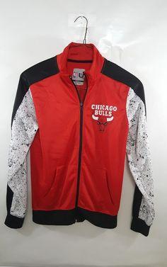 Men's Small NBA Chicago Bulls Warm Up Jacket Unique Design paint splatters    Sports Mem, Cards & Fan Shop, Fan Apparel & Souvenirs, Basketball-NBA   eBay!