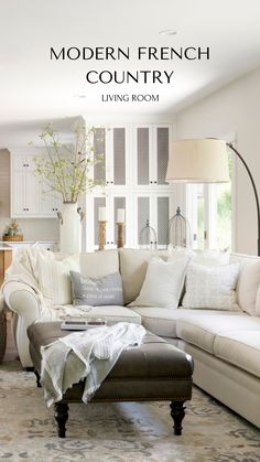 Modern French Country Living Room Decor Modern French Country