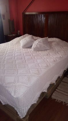 Crochet Bedspread Pattern, Bed Spreads, Furniture, Home Decor, Bedspreads, Bedspread, Toss Pillows, Decoration Home, Room Decor
