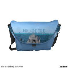 Into the Blue Messenger Bag