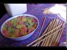 Como fazer árvore de jujuba para decorar festas