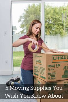 Click through to learn about the top 5 moving supplies you should be using for your move.  These supplies make packing and your moving day more efficient and a lot easier!