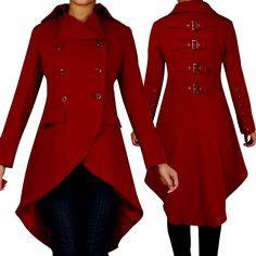 Gothic buckle coat
