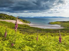 Isle of Skye and Raasay, from Applecross, Scotland. Climbed the cliffs on east coat of Rassay opposite Applecross