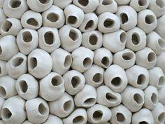 Textured Tile, Barnacle by elementclaystudio