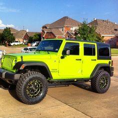 2012 Gecko Green Jeep Wrangler X loaded with Custom leather, wheels, mopar lift. God damnit I hope this is my first car Jeep Wrangler Rubicon, Green Jeep Wrangler, Jeep Wrangler Unlimited, Jeep Wrangler Colors, Auto Jeep, Mopar Jeep, Jeep Jku, Jeep Verde, Lime Green Jeep