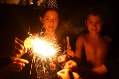 Great 4th of July capture from @Denise Mestanza-Taylor of Run DMT. Love the glow on the kids' faces. :)
