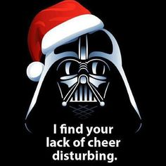 Merry Christmas from the Darth