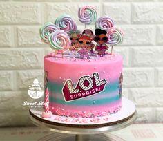 LOL Inspired Birthday Cake, Lol, Inspired, Desserts, Inspiration, Tailgate Desserts, Biblical Inspiration, Birthday Cakes, Dessert