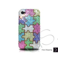 <3 bling bling puzzle phone case i want it is banging <3