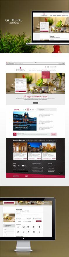 Cathedral Guesthouse Braga #webdesign #design gráfico #imagem corporativa  #ComunicaDigital
