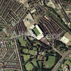 Aston Villa's Villa Park Stadium, Aerial Landscapes Photographic Print - 61 x 61 cm