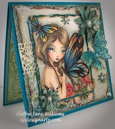 Tropical Queen by ching chou kuik at Sweet Pea Stamps.