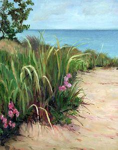 beach scenes paintings - Google Search