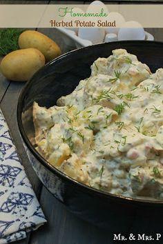 Homemade Herbed Potato Salad