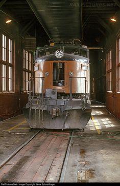 RailPictures.Net Photo: Milwaukee Road Milw Rd Little Joe at Avery, Idaho by Steve Schmollinger
