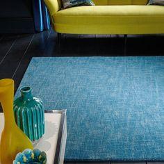Tweed rugs in teal buy online from the rug seller uk