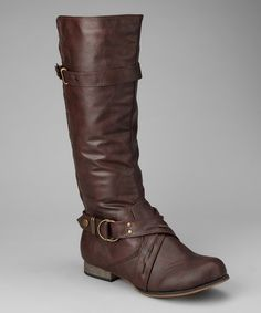 Take a look at this Brown Danni Boot by Chocolate Hues: Apparel & Accessories on #zulily today!