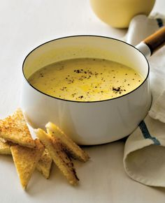 Avgolemono Soup  - CountryLiving.com