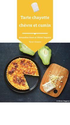 #terrevivante #tarte #tartesalee #chayotte #chevre #cumin #recettecuisine Bio, Ethnic Recipes, Eat Healthy, Salty Tart, Tarts, Salty Cake, Cooking Recipes, Food