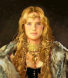 Freya gold collar