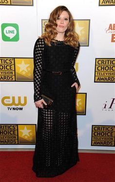 """"""" ORANGE IS THE NEW BLACK"""" Natasha Lyonne arrives at the Critics' Choice Television Awards at the Beverly Hilton Hotel in Beverly Hills, Calif., on June 19, 2014."""
