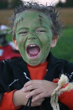 Frankenstein's Monster  Halloween Costume size 7 8 by kmkc78, $30.00