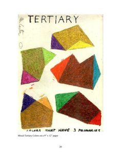 Tertiary Color Theory by Michael A. Carter