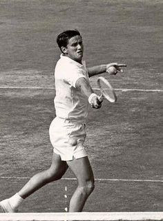 Australian Roy Emerson. #tennis Australian Tennis, Tennis Australia, Tennis Videos, Tennis Legends, Tennis World, Star Wars, Lawn Tennis, Sports Games, Aussies