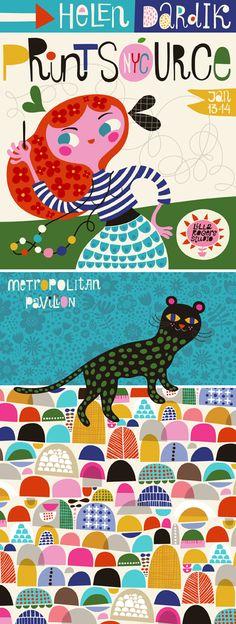 print & pattern - Helen Dardik