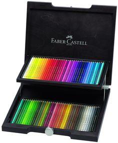 Amazon.com : Polychromos 72 Pencil Wood Box Set : Artists Pencils : Office Products