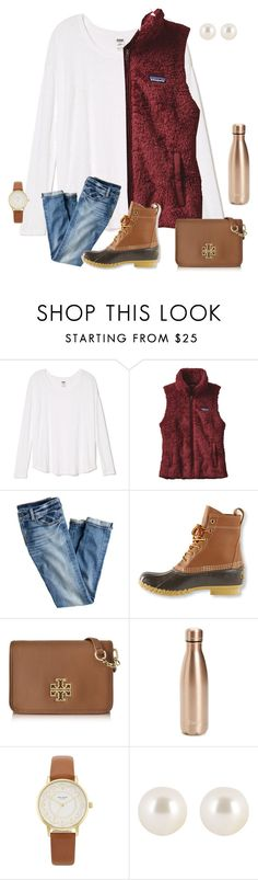 """""""watched Zootopia & it was the cutest thing ever """" by preppinessandpearls ❤ liked on Polyvore featuring Patagonia, J.Crew, L.L.Bean, Tory Burch, S'well, Kate Spade and Henri Bendel"""