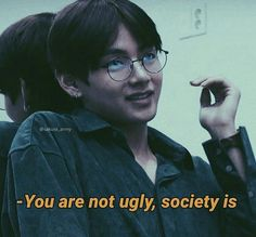 "Like My Chemical Romance said: ""the world is ugly, but you& beautiful to . - BTS Like My Chemical Romance said: ""the world is ugly, but you're beautiful to . My Chemical Romance, Bts Lyrics Quotes, Bts Qoutes, Mood Quotes, Happy Quotes, Funny Quotes, Chill Quotes, Bts Memes, You're Beautiful Quotes"