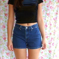Tommy Hilfiger Denim Shorts Classic denim short. In fantastic condition with inseam of 3.5 inches. Discounts on bundles. 20% off all bundles. First pic is to demonstrate how to style. Short for sale is shown in final two pics. Thanks for looking! Tommy Hilfiger Jeans