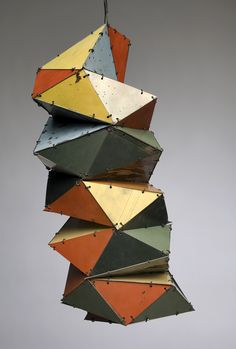 Ted Larsen/Floaty, 2008. Salvaged steel and annealed wire
