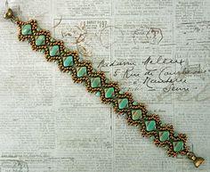 Free Beading Pattern: Esther Silky Bracelet