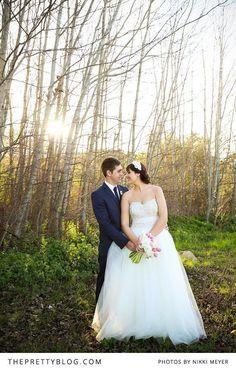 Beautiful wedding shoot in the woods   Photographers: Nikki Meyer, Wedding Dress: Alana van Heerden- Fashion & Bridal, Zara Man: Groom's Suit
