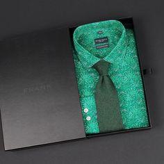 The new vibrant green Osaka club collar shirt   www.Grandfrank.com